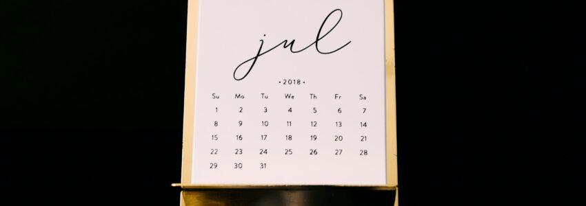 5x favorieten in juli